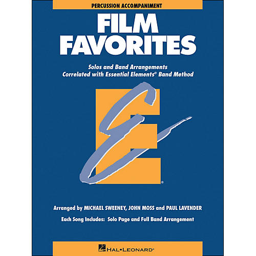 Hal Leonard Film Favorites Percussion-thumbnail