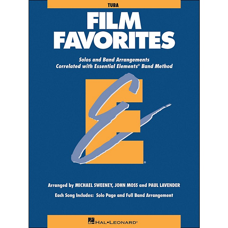 Hal Leonard Film Favorites Tuba
