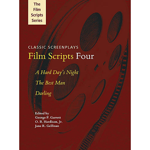 Applause Books Film Scripts Four (A Hard Day's Night, The Best Man, Darling) Applause Books Series Softcover