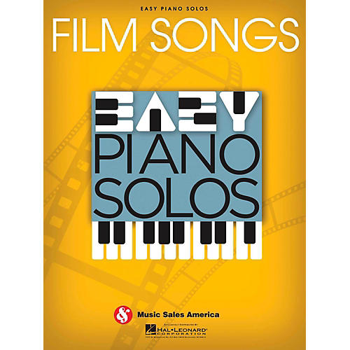 Music Sales Film Songs  Easy Piano Solos-thumbnail