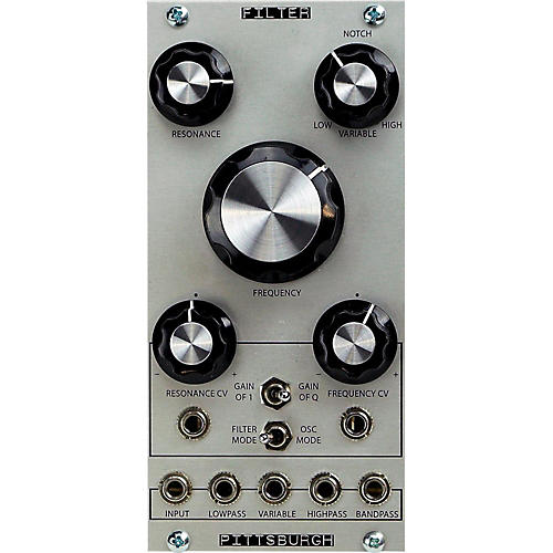 pittsburgh modular synthesizers filter module musician 39 s friend. Black Bedroom Furniture Sets. Home Design Ideas