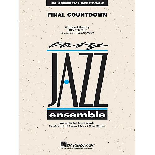 Hal Leonard Final Countdown Jazz Band Level 2 Arranged by Paul Lavender