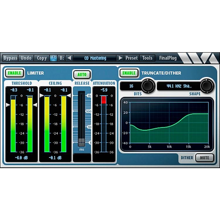 Wave ArtsFinalPlug - AAX Software DownloadSoftware Download