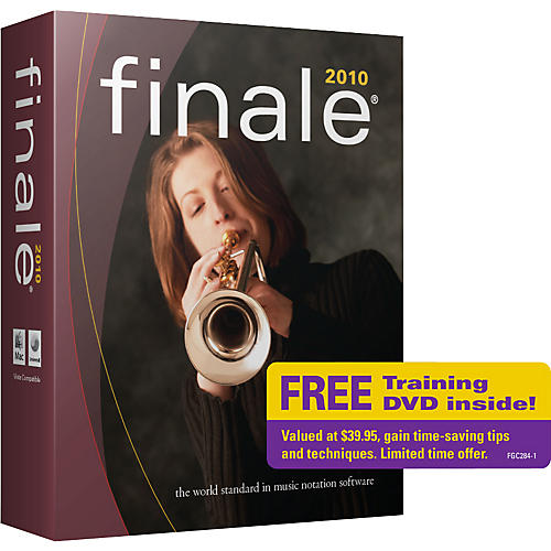 Finale Finale 2010 Retail Limited Edition with Free Tutorial DVD