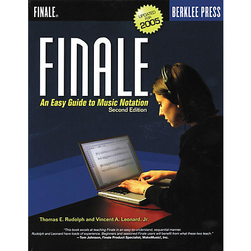 Berklee Press Finale: An Easy Guide to Music Notation, Second Edition (Book)-thumbnail