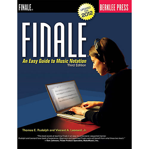 Berklee Press Finale Berklee Press Series Softcover Written by Thomas E. Rudolph-thumbnail