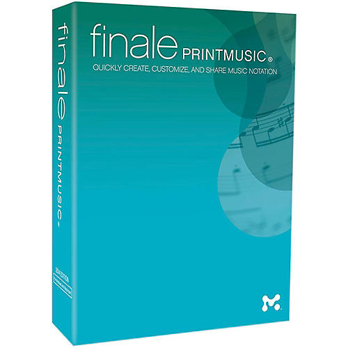 Makemusic Finale PrintMusic 2014 Lab Pack 5 User