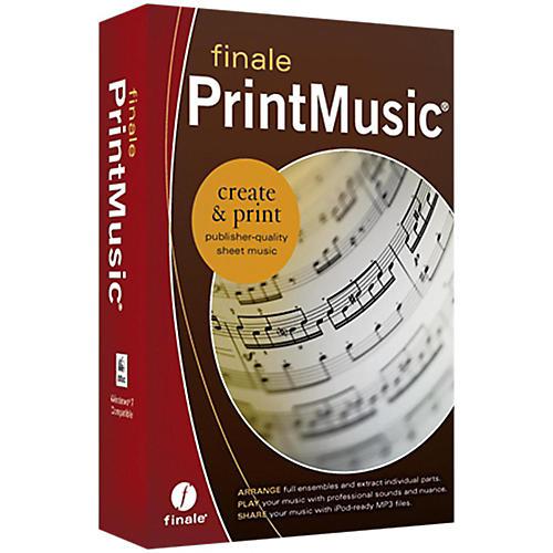Makemusic Finale PrintMusic