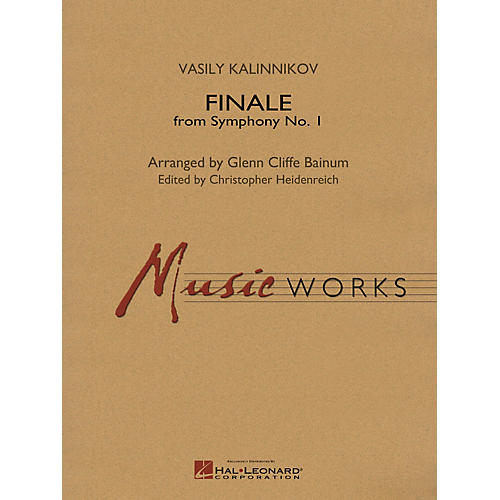 Hal Leonard Finale from Symphony No. 1 (Revised Edition) Concert Band Level 5 Arranged by Glenn Cliffe Bainum-thumbnail