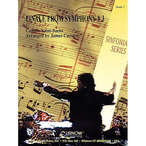 Curnow Music Finale from Symphony No. 3 (Grade 3 - Score and Parts) Concert Band Level 3 Arranged by James Curnow-thumbnail
