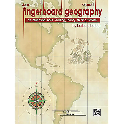 PRELUDIO Fingerboard Geography for Violin, Volume 1-thumbnail