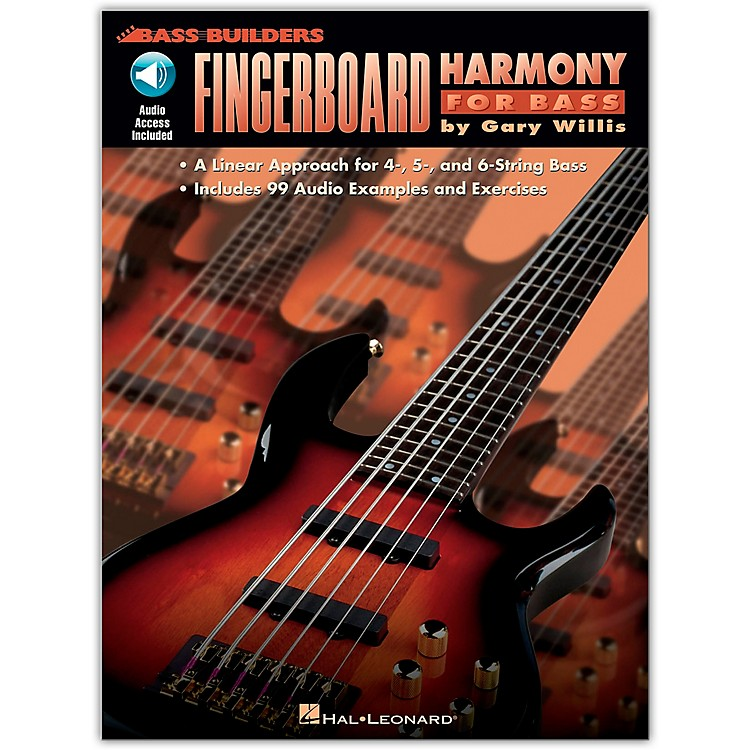 Hal LeonardFingerboard Harmony for Bass (Book and CD Package)