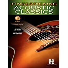 Hal Leonard Fingerpicking Acoustic Classics - 15 Songs Arr. For Solo Gtr In Standard Notation & Tab