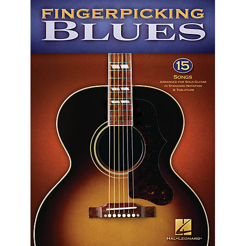 Hal Leonard Fingerpicking Blues Guitar Solo Series Softcover