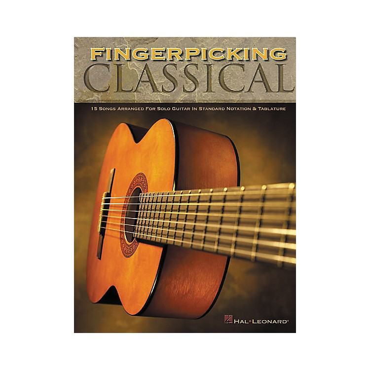 Hal Leonard Fingerpicking Classical Solo Guitar Tab Book