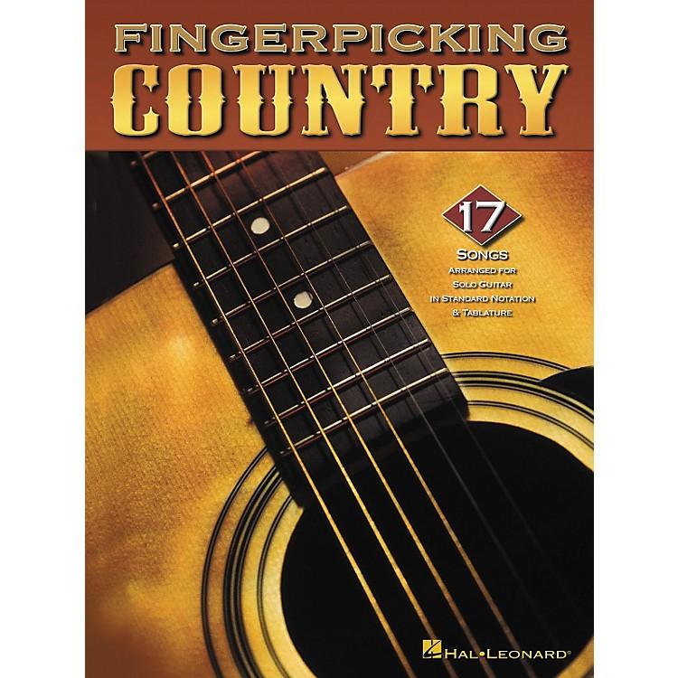 Hal LeonardFingerpicking Country Guitar Tab Songbook