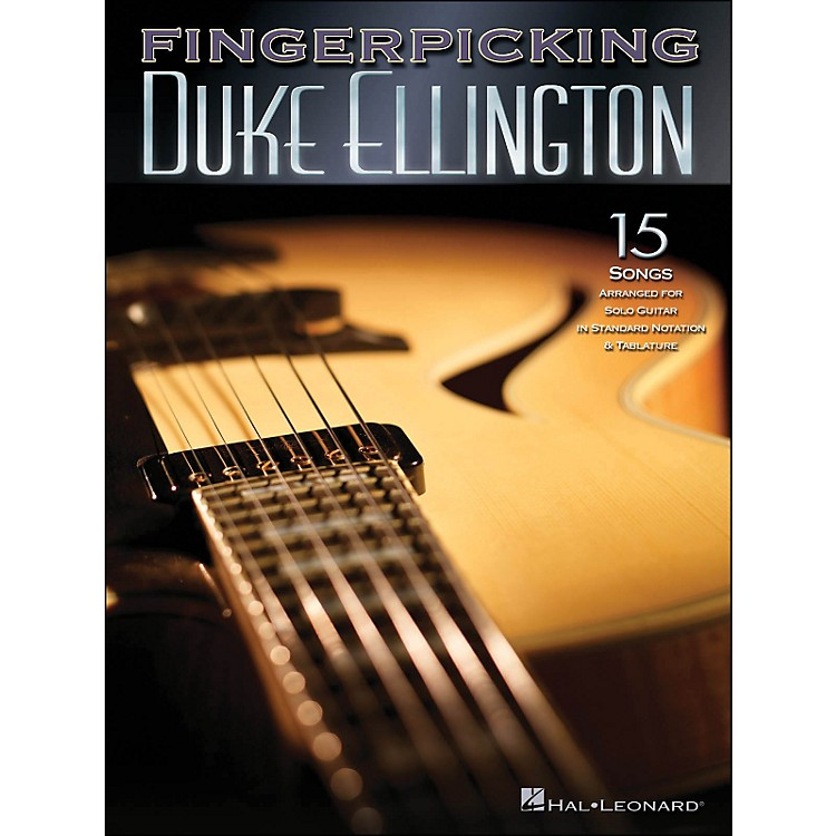 Hal Leonard Fingerpicking Duke Ellington 15 Songs Arr. for Solo Guitarin Standard Notation & Tab