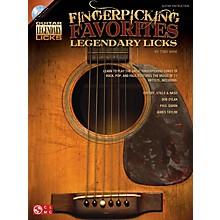 Hal Leonard Fingerpicking Favorites Legendary Licks Book/CD