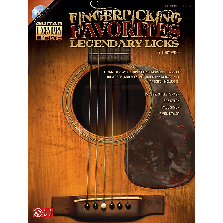 Hal Leonard Fingerpicking Favorites Legendary Licks Book/CD