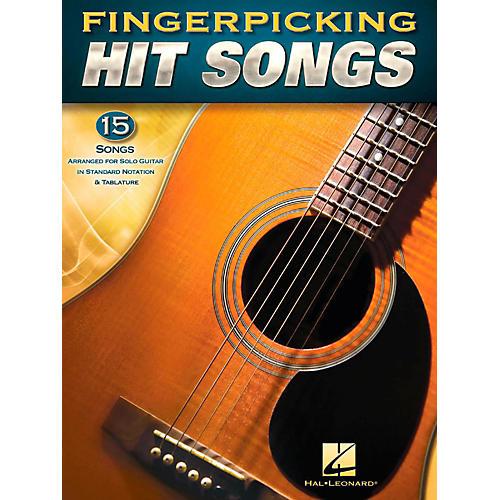 Hal Leonard Fingerpicking Hit Songs - 15 Popular Tunes Arr. for Solo Gtr in Standard Notation & Tab-thumbnail
