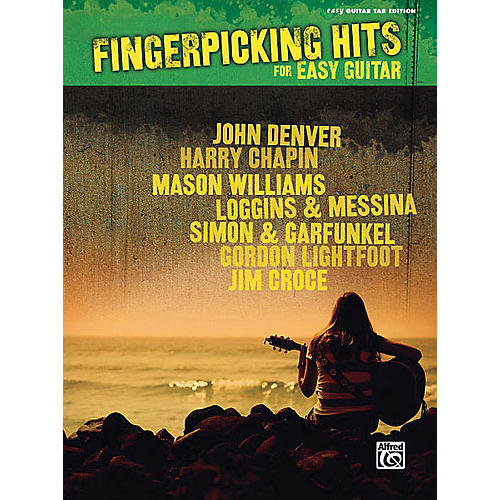 Hal Leonard Fingerpicking Hits for Easy Guitar Easy Guitar Series Softcover Performed by Various