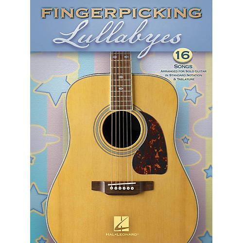 Hal Leonard Fingerpicking Lullabyes Guitar Solo Series Softcover