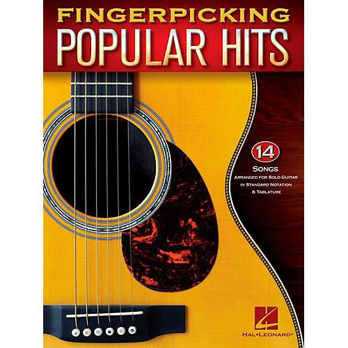 Hal Leonard Fingerpicking Popular Hits - 15 Songs Arr. For Solo Guitar in Standard Notation & Tab-thumbnail