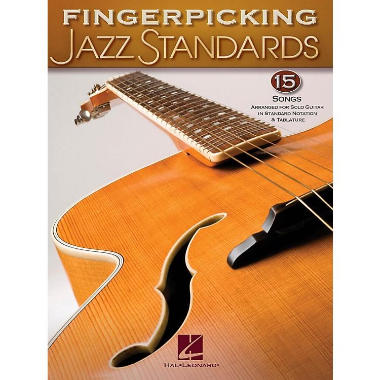 Hal LeonardFingerpicking Standards 15 Songs Arranged For Solo Guitar In Standard Notation & Tab
