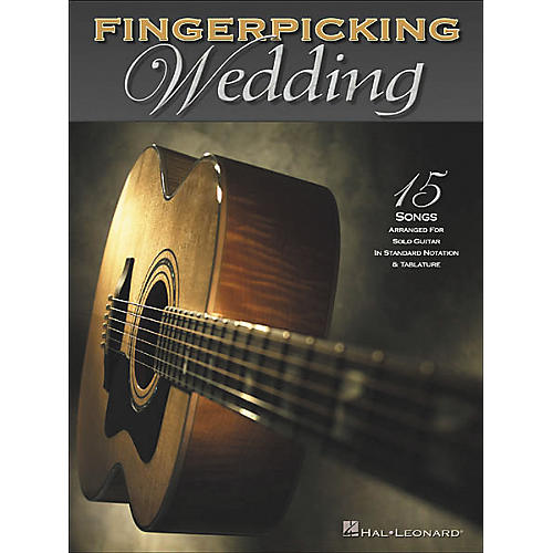 Hal Leonard Fingerpicking Wedding Solo Guitar Tab Book