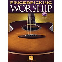 Hal Leonard Fingerpicking Worship 15 So Ngs Arranged for Solo Guitar In Standard Notation & Tab