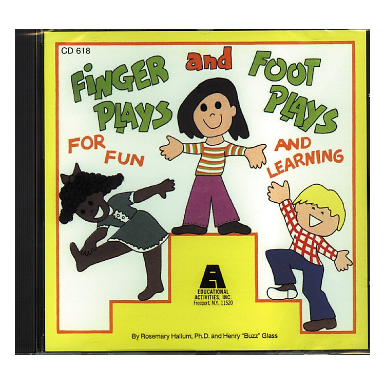 Educational Activities Fingerplays and Footplays Cd