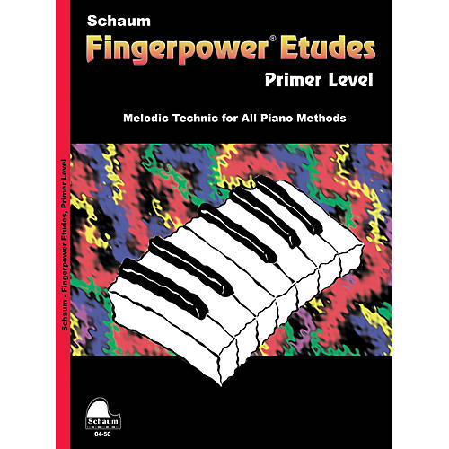 SCHAUM Fingerpower« Etudes Primer Educational Piano Series Softcover