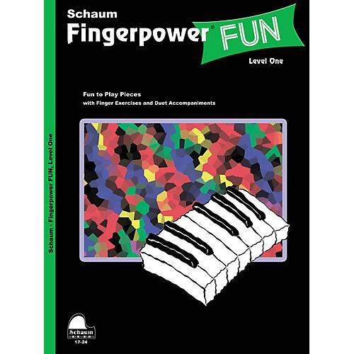 SCHAUM Fingerpower® Fun (Level 1 Elem Level) Educational Piano Book-thumbnail
