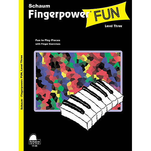 SCHAUM Fingerpower® Fun (Level 3 Early Inter Level) Educational Piano Book-thumbnail