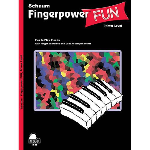 SCHAUM Fingerpower® Fun (Primer Level Early Elem Level) Educational Piano Book