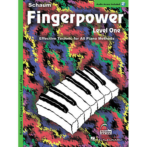 SCHAUM Fingerpower® (Level 1 Book/CD Pack) Educational Piano Series Softcover with CD Written by John W. Schaum-thumbnail