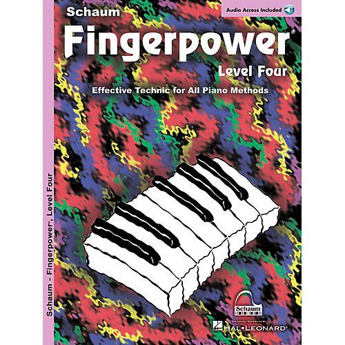 SCHAUM Fingerpower Level 4 (Book/CD Pack)