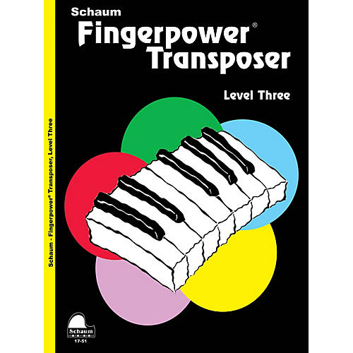SCHAUM Fingerpower® Transposer Educational Piano Book by Wesley Schaum (Level Early Inter)-thumbnail