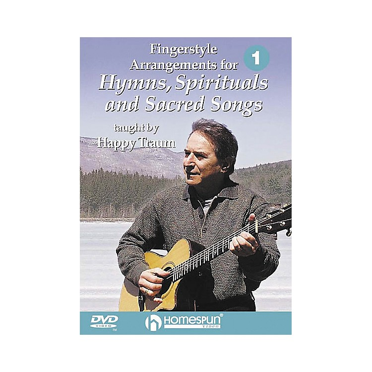 Homespun Fingerstyle Arrangements for Hymns, Spirituals and Sacred Songs 1 (DVD)