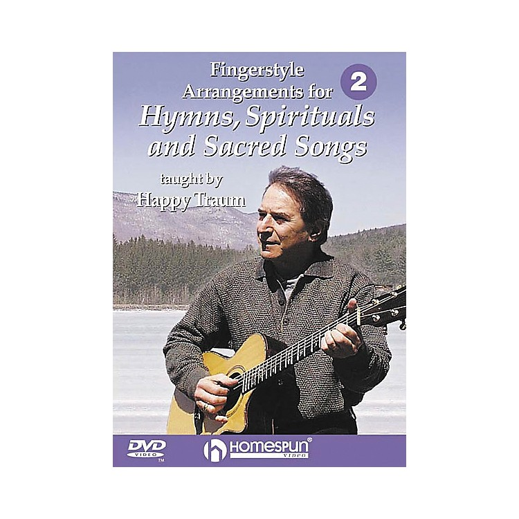 Homespun Fingerstyle Arrangements for Hymns, Spirituals and Sacred Songs 2 (DVD)