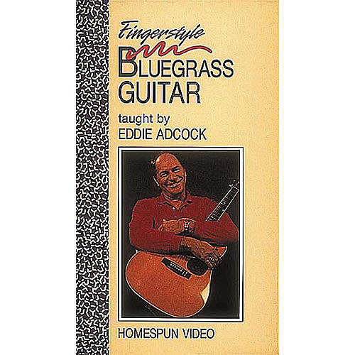 Homespun Fingerstyle Bluegrass Guitar (VHS)-thumbnail