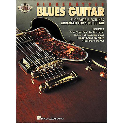 Hal Leonard Fingerstyle Blues Guitar Book