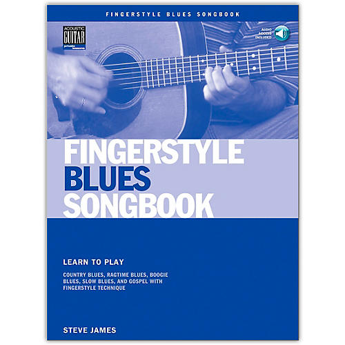 Hal Leonard Fingerstyle Blues Songbook (Book/CD)