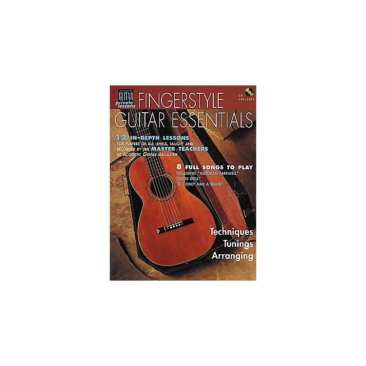 String Letter PublishingFingerstyle Guitar Essentials (Book/CD)