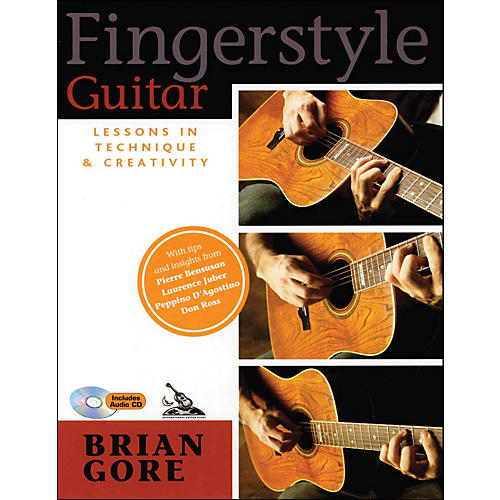Backbeat Books Fingerstyle Guitar Lessons In Technique And Creativity Book/CD