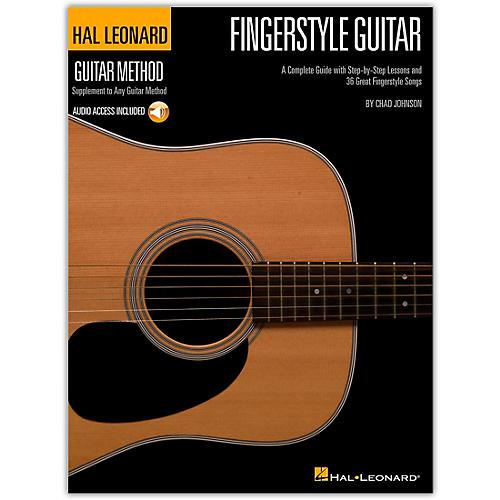 Hal Leonard Fingerstyle Guitar Method - Stylistic Supplement To The Hal Leonard Guitar Method Book/CD