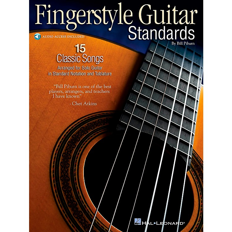 Hal Leonard Fingerstyle Guitar Standards Book/CD