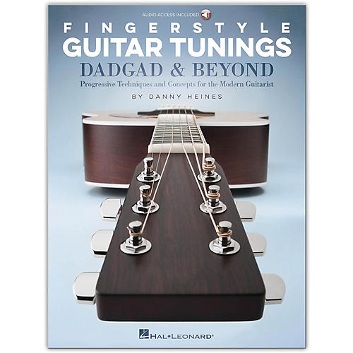 Hal Leonard Fingerstyle Guitar Tunings: DADGAD & Beyond (Book/Audio Online)-thumbnail