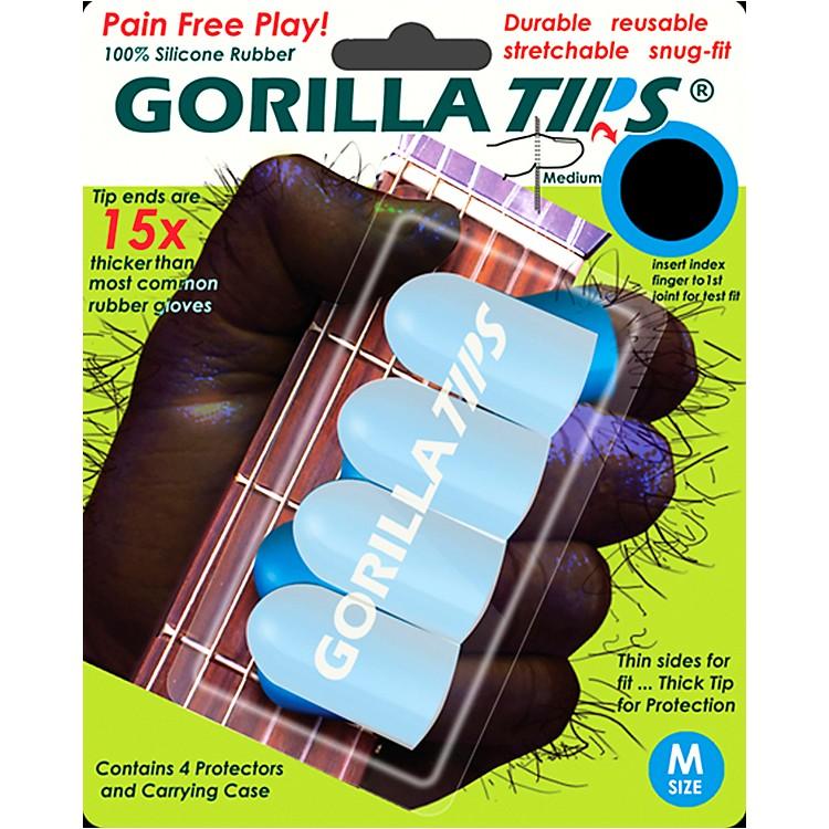 Gorilla TipsFingertip ProtectorsClearMedium