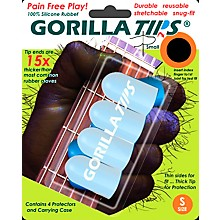 Gorilla Tips Fingertip Protectors Clear Small